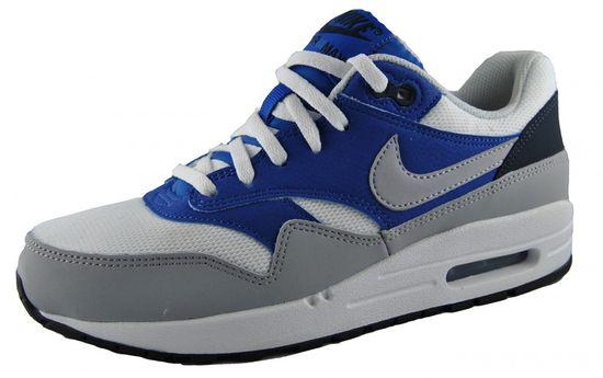 Kinder Nike Air Max Sneaker (GS) 555766-105 Blau Grau Weiß Laufschuhe 38 38,5