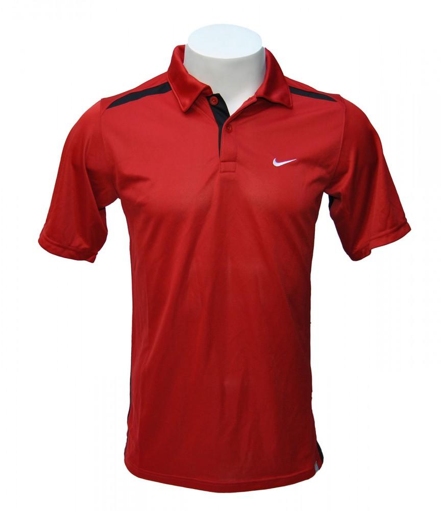Nike Tennis Kinder Poloshirt Rot 403865-648