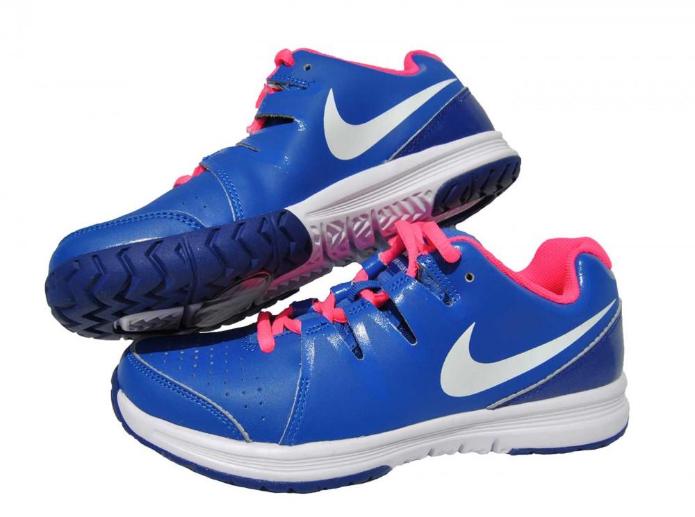 Nike Vapor Court Kinder Blau Pink Laufschuhe 633306-400