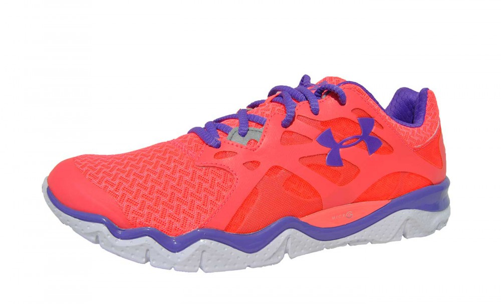 Under Armour Ua W Micro Monza Rosa 1249946-819 Damen Laufschuhe