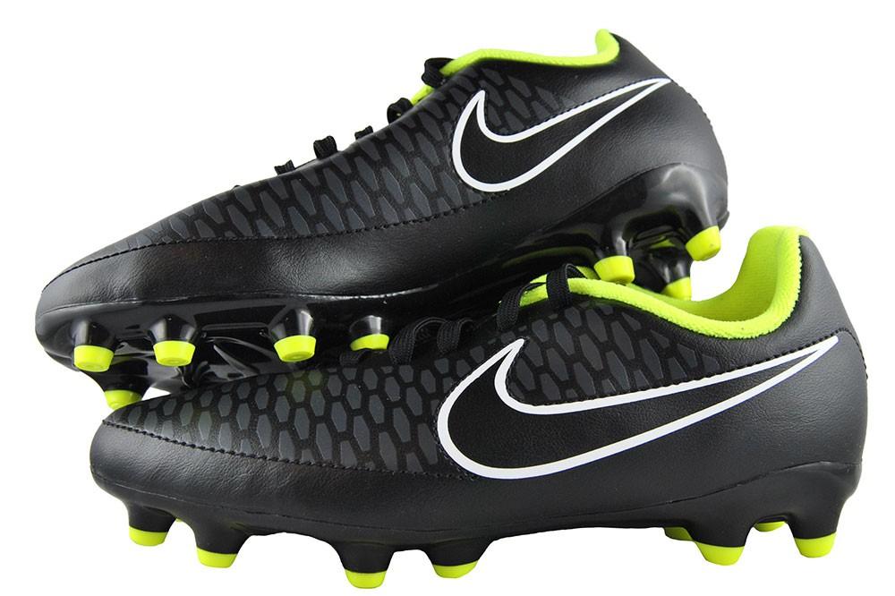 Nike Jr Magista Onda Fg 651653-017 Kinder Schwarz Fußballschuhe