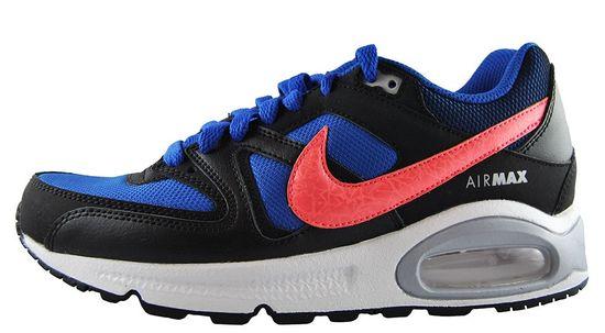Nike Air Max Command (GS) 407759-480 Schwarz Blau Weiß Sneaker