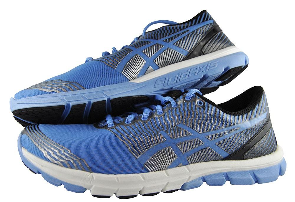 Asics Gel Lyte 33 Blau Damen Women's Laufschuhe T462N