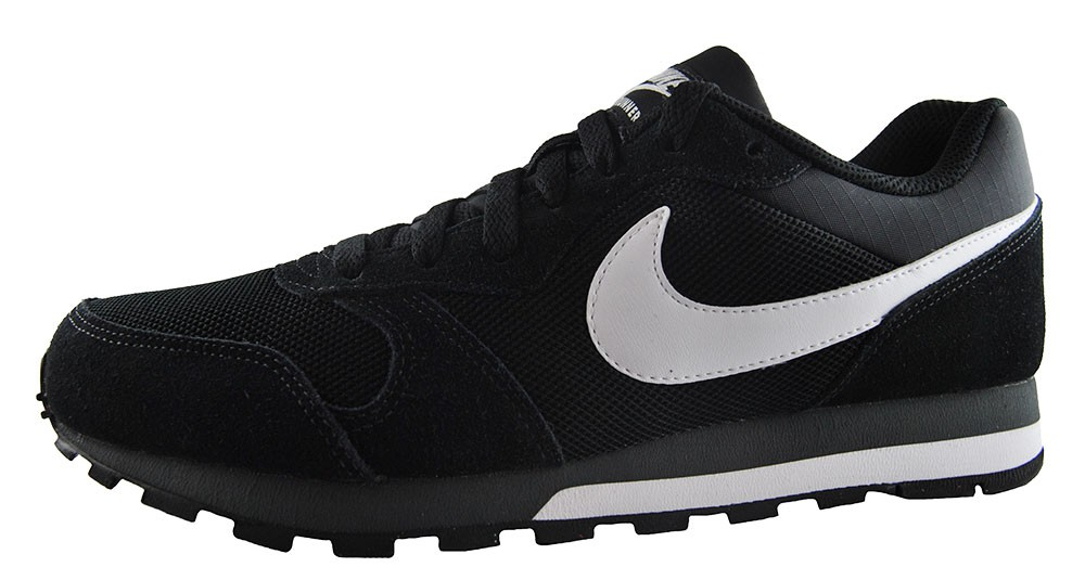 Nike Md Runner 2 749794-010  Herren-Men's Schwarz Sneaker