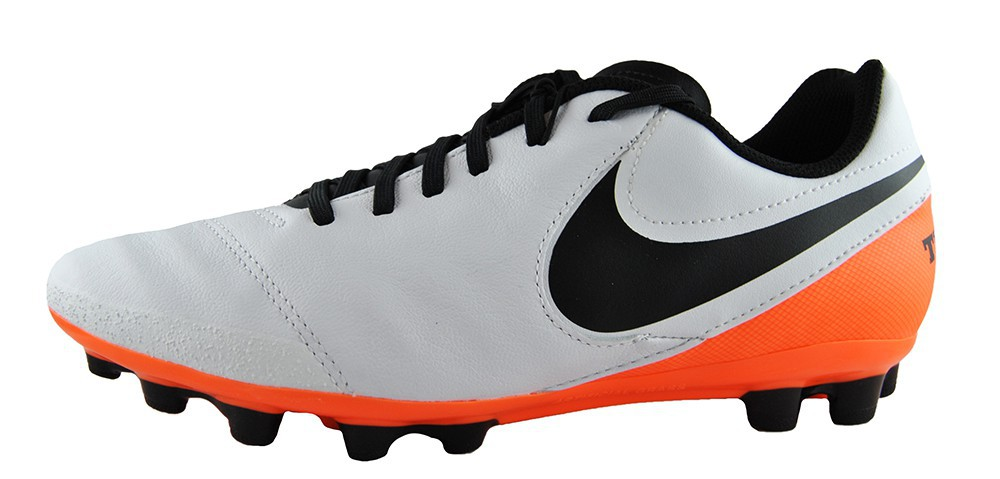 Nike Jr Tiempo Legend Vi Ag 833676 108 Weiss Orange Kinder
