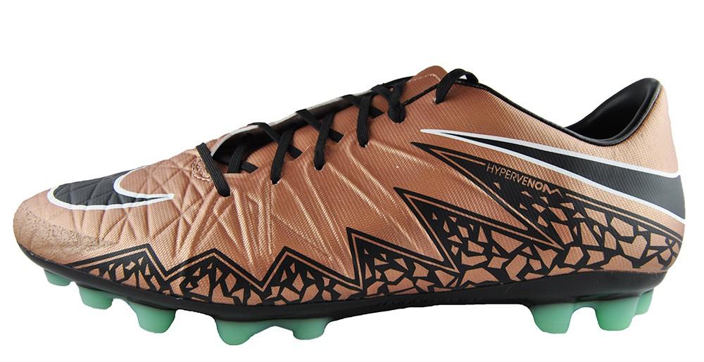 Nike Hypervenom Phatal II AG R 749892-903 Fußballschuhe Bronze Schwarz