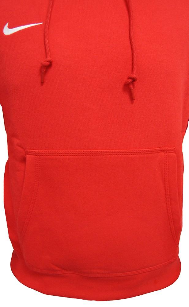 Nike Team Club Hoody 658498-657 Herren Men's Rot Sweatshirt