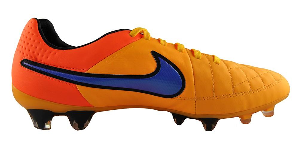 Nike Tiempo Legend V FG 631518-858 Orange Herren Fußballschuhe Leder ACC