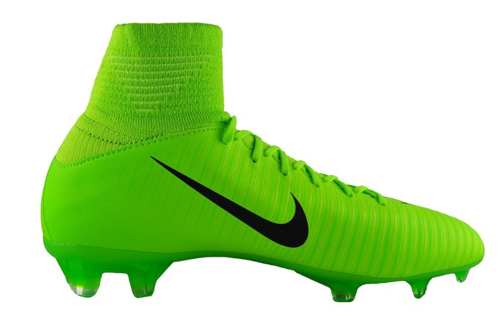 Nike Jr Mercurial Superfly V FG 831943-303 Fußballschuhe Grün Kinder