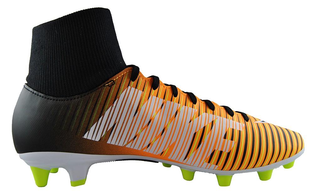 Nike Mercurial Victory VI DF AG-Pro 903608-801 Schwarz Orange Fußballschuhe
