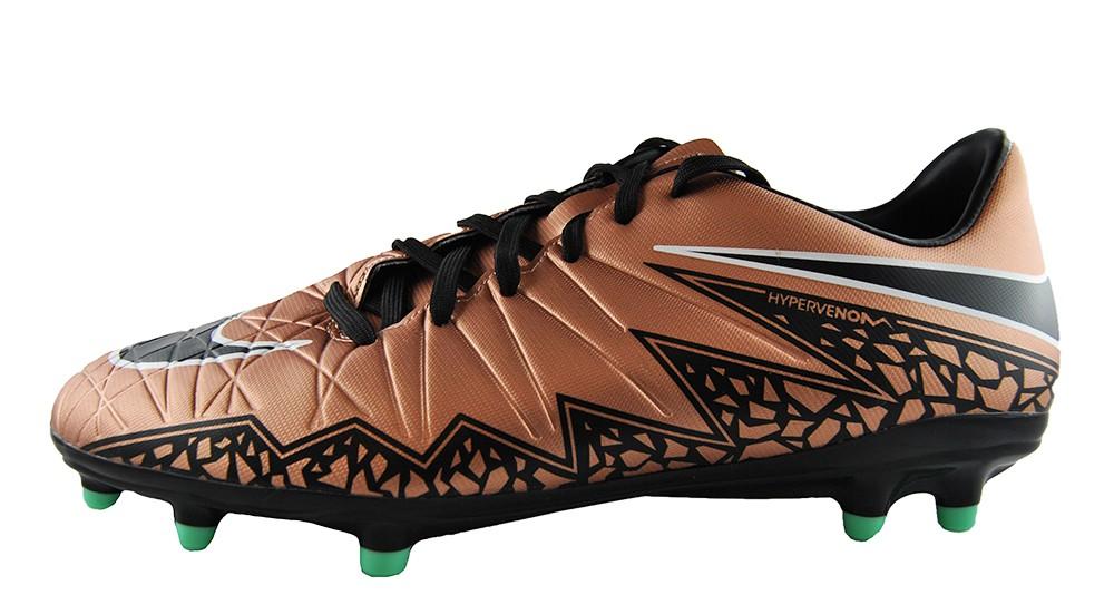 Nike Hypervenom Phelon II FG 749896-903 Herren Fußballschuhe Bronze Größe 42,5