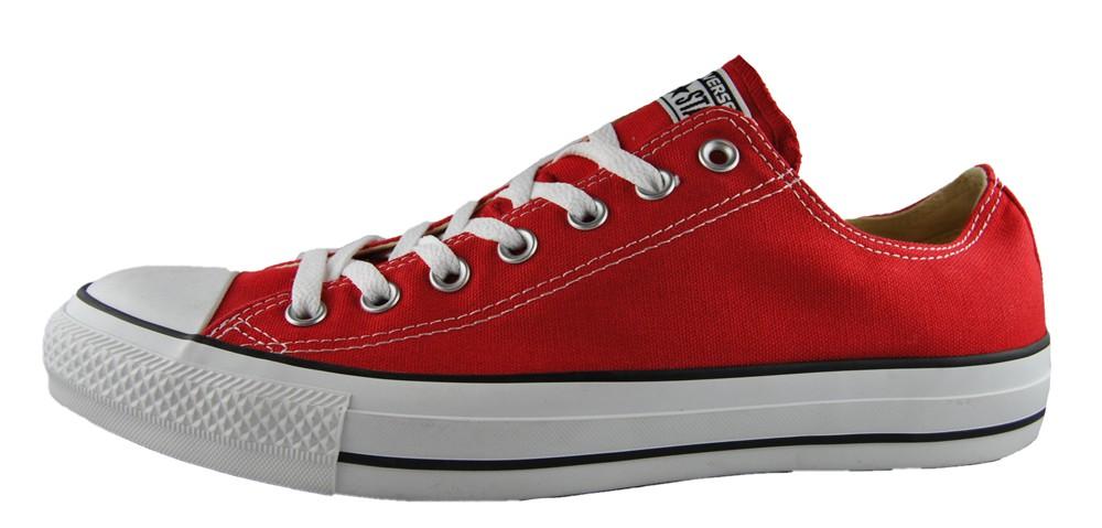 Converse Chuck Taylor Ox Sneaker M9696C Rot Unisex Größe 45