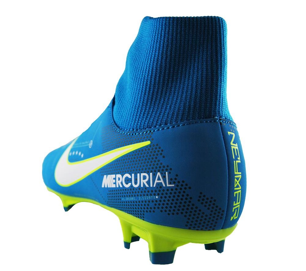 Nike Mercurial Victory VI DF Neymar FG 921506-400 Blau Fußballschuhe