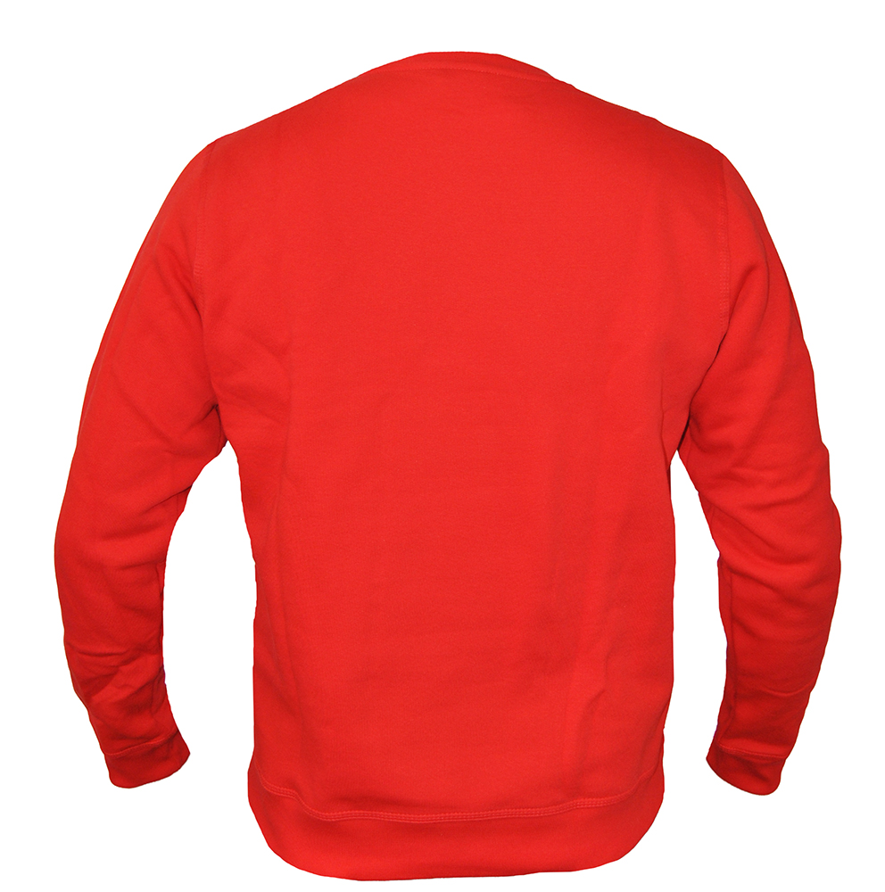 Nike Team Club Crew Rot Sweatshirt 658681-657 Herren Men's