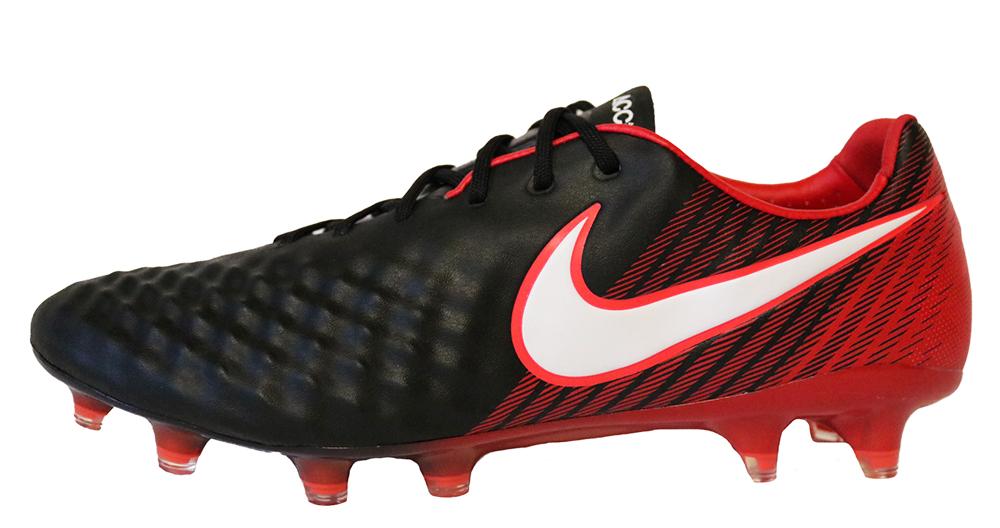 Nike Magista Opus II FG 843813-061 Herren Schwarz Rot Fußballschuhe ACC