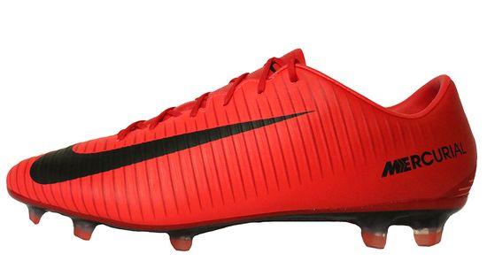 Nike Mercurial Veloce III FG 847756-616 Rot Schwarz Fußballschuhe