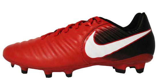 Nike Tiempo Ligera IV FG 897744-616 Rot Schwarz Fußballschuhe