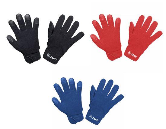 JAKO Feldspielerhandschuhe Unisex Handschuhe Schwarz Rot Blau 2505 01 04 08