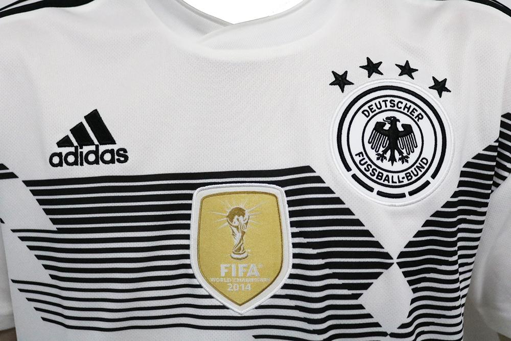 adidas DFB Heim Trikot WM2018 Deutschland Weiß BR7843