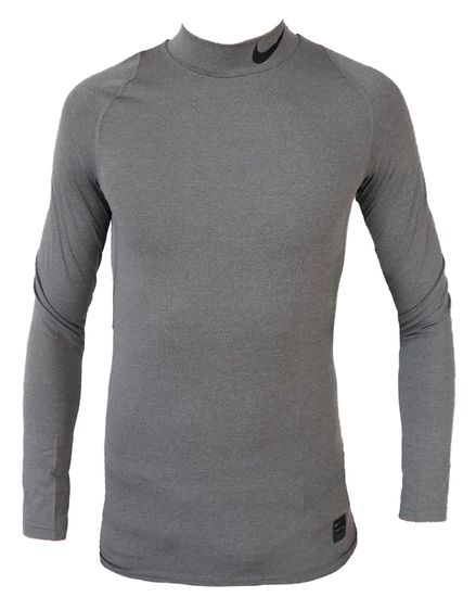 Nike Pro Compression Trainingsshirt Langarm Shirt Grau 838079-091