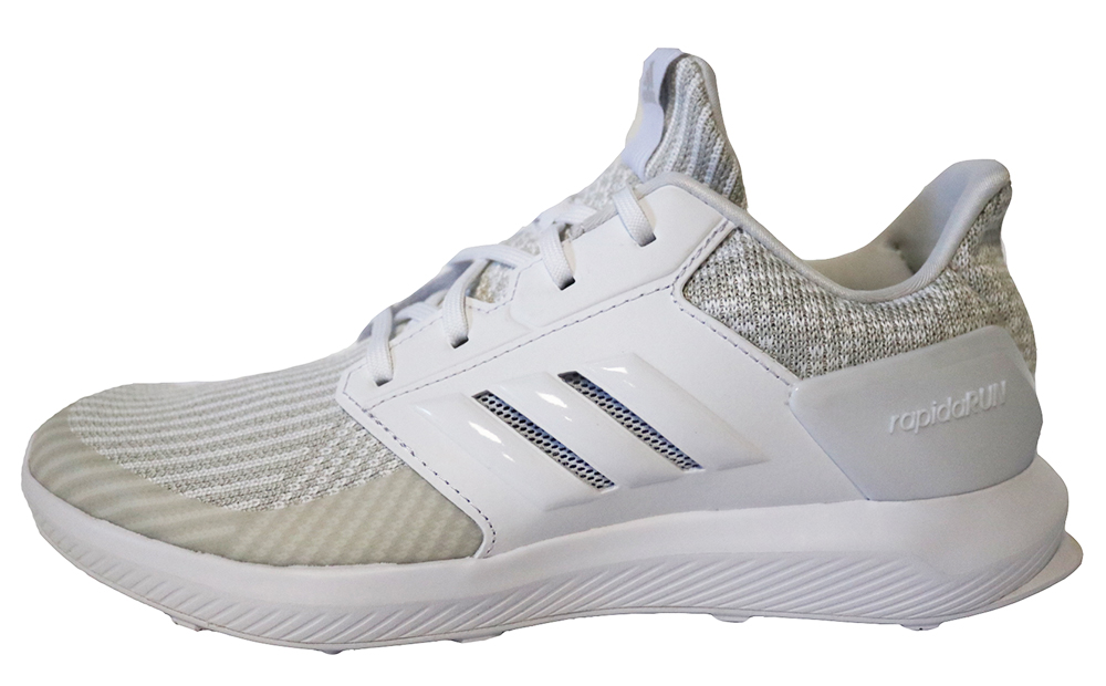 adidas RapidaRun KNIT J DB0215 Kinder Laufschuhe Weiß Schuhe