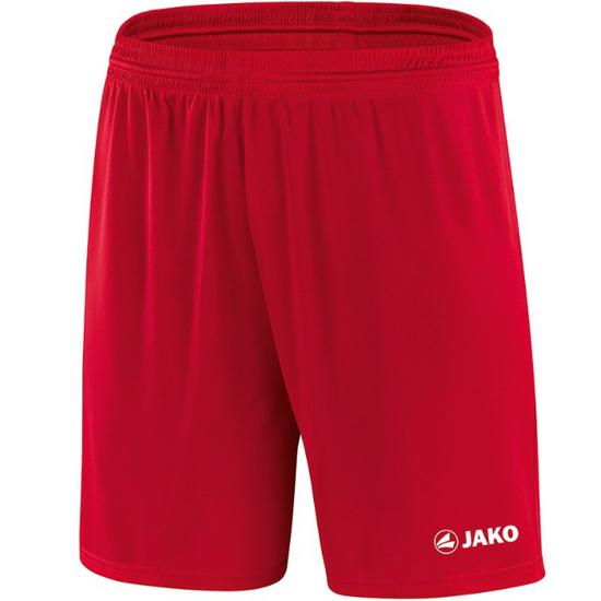 JAKO Sporthose Manchester mit JAKO Logo, ohne Innenslip rot 4412 01