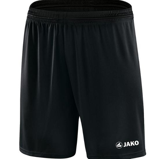 JAKO Sporthose Manchester mit JAKO Logo, ohne Innenslip schwarz 4412 08