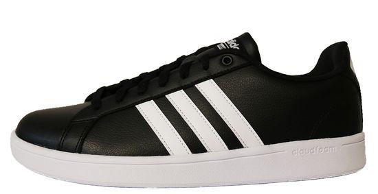 adidas Neo Cloudfoam Advantage B74264 Herren Schwarz Weiß Sneaker
