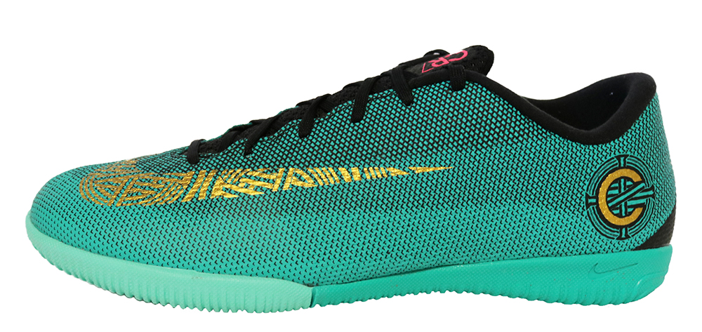Nike VaporX 12 Academy CR7 IC AJ3731-390 Hallen Fußballschuhe Ronaldo Grün