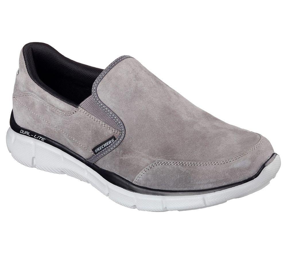 Skechers Equalizer Mind Game Herren Grau Sneaker 51502/CHAR