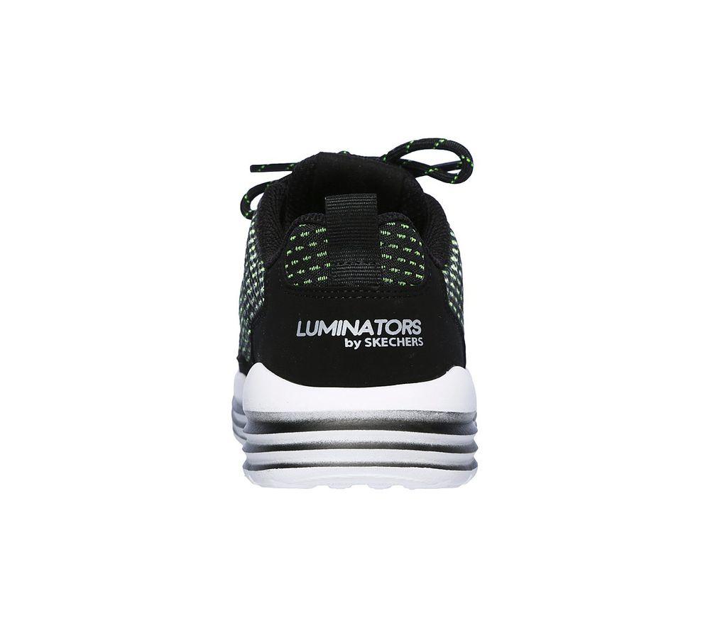 Skechers S Lights Luminators Jungen Sneaker 90730LBKLM