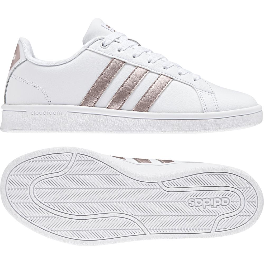billig für Rabatt d699d 14d4f adidas CF Advantage Weiß Damen Sneaker DA9524 Schuhe ...
