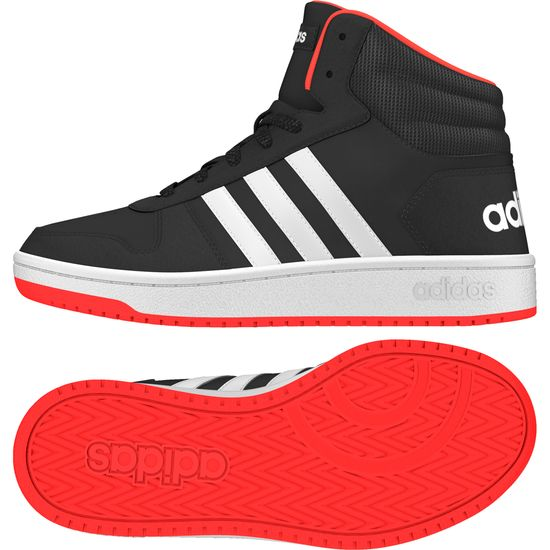 adidas mid cut hoops 40
