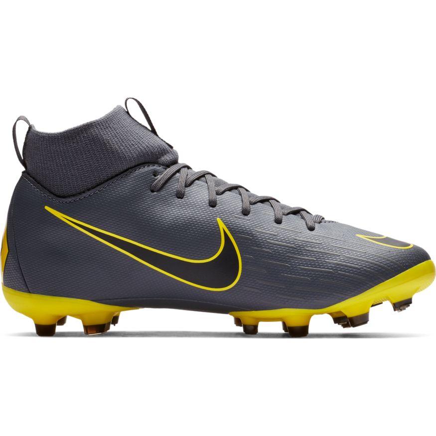 Nike Jr Superfly 6 Academy GS FG/MG AH7337-070 Grau Kinder Fußballschuhe