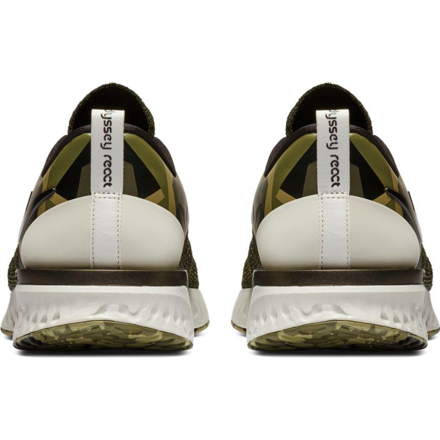 Nike Odyssey React 2 FK GPX Herren Khaki Camouflage Laufschuhe AT9975-302