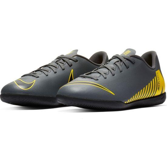 Nike Vapor 12 Club GS IC Indoor AH7354-070 Grau Kinder Fußballschuhe – Bild 1