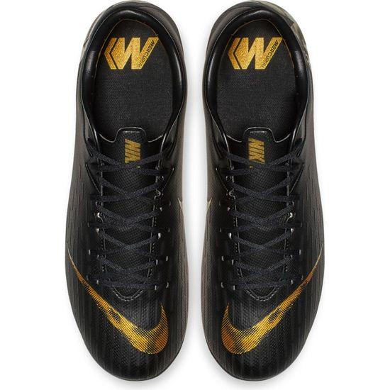 Nike Vapor 12 Academy FG/MG AH7375-077 Schwarz Fußballschuhe  – Bild 4