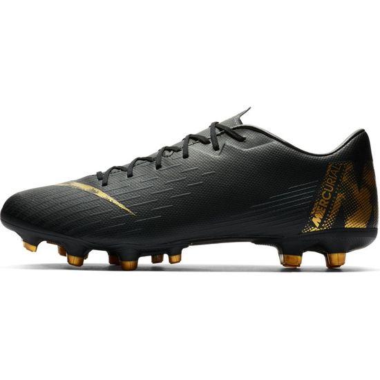 Nike Vapor 12 Academy FG/MG AH7375-077 Schwarz Fußballschuhe  – Bild 2