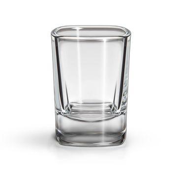 SIXBY Schnapsgläser 4cl VIVA Shot, quadratische Form