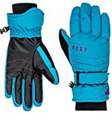 ROXY Mouna Solid GLOVES Ski/Snowboardhandschuhe Fingerhandschuhe Damen türkis