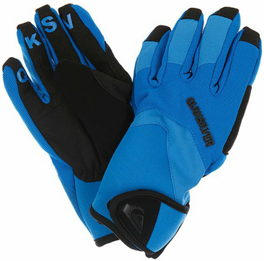 Quiksilver Youth Tips Gloves Ski/Snowboardhandschuhe Kids blau Gr.L NEU