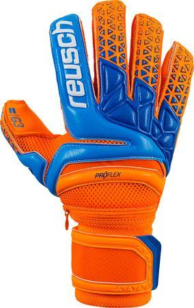 Reusch Torwarthandschuhe Prisma Pro G3 Ortho-Tec orange blau – Bild 1