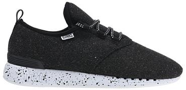 DJINNS Moc Lau Spots Shoe black Herrenschuh/schwarzer Textilschuh NEU