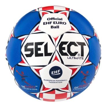 Select Ultimate Replica EHF Euro 2018 blau weiß rot