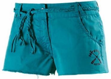 BENCH Parsonage Garden Short/Hotpant  Damen petrol  NEU