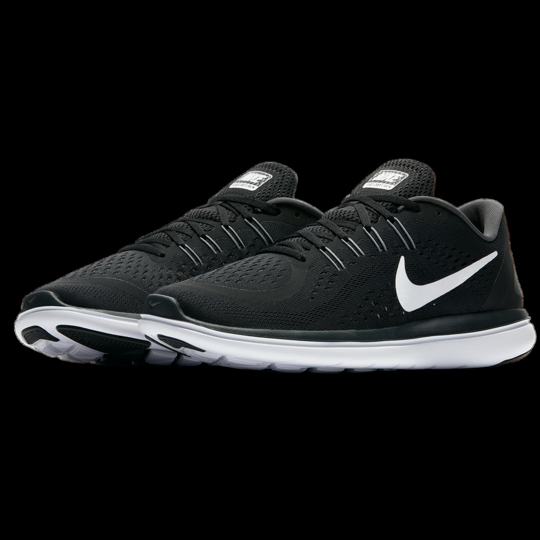 Details zu Nike Flex 2017 RN schwarz weiß Herren Trainingsschuhe Sportschuhe Sneaker NEU