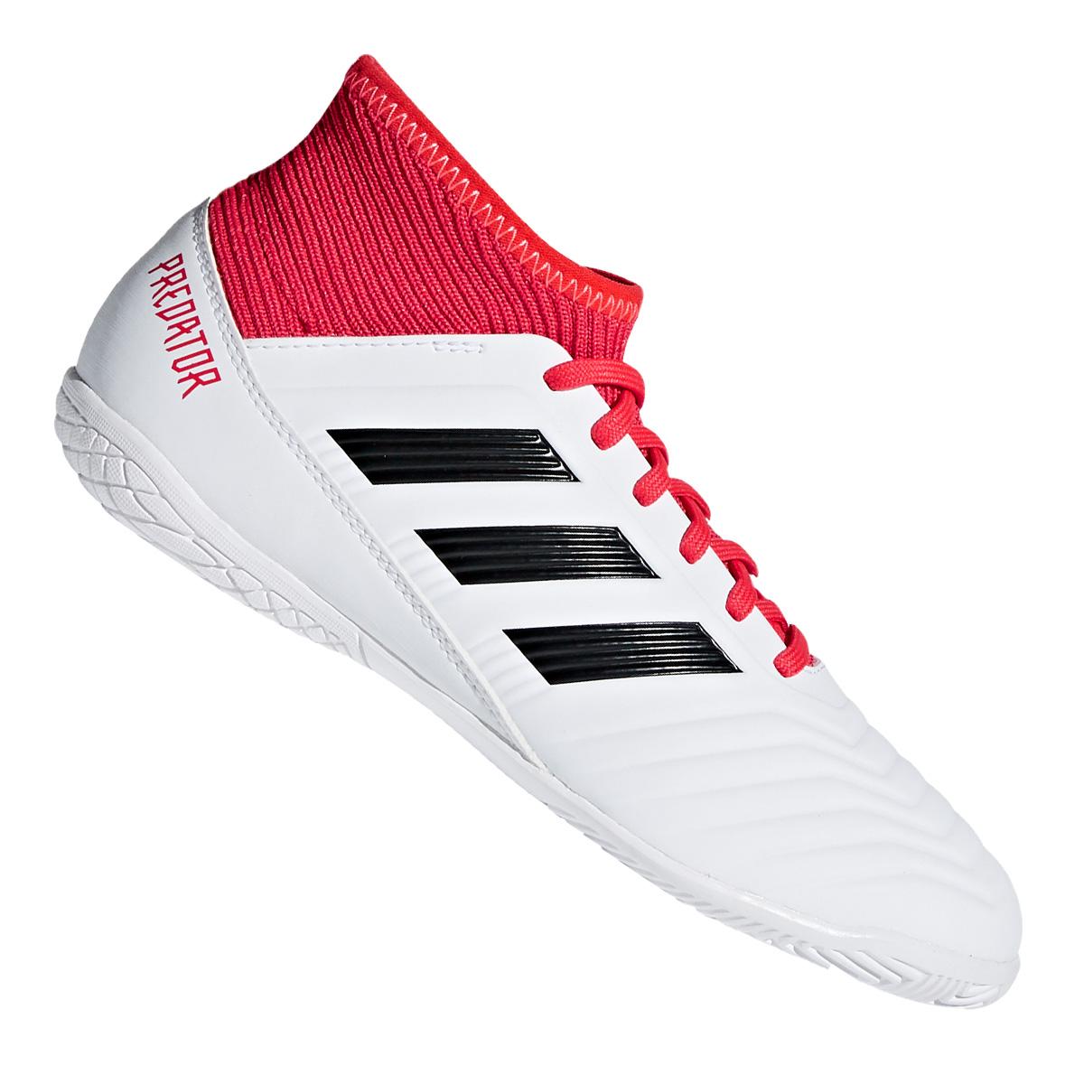 Details zu Adidas Predator Tango 18.3 IN Kinder weiß Socken Hallenschuhe  Fussball NEU