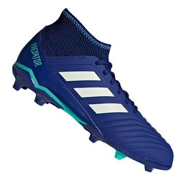 Adidas Predator 18.3 FG Kinder blau – Bild 1
