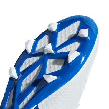 Adidas NEMEZIZ Messi 18.3 FG Fußballschuh Kinder weiß blau – Bild 8
