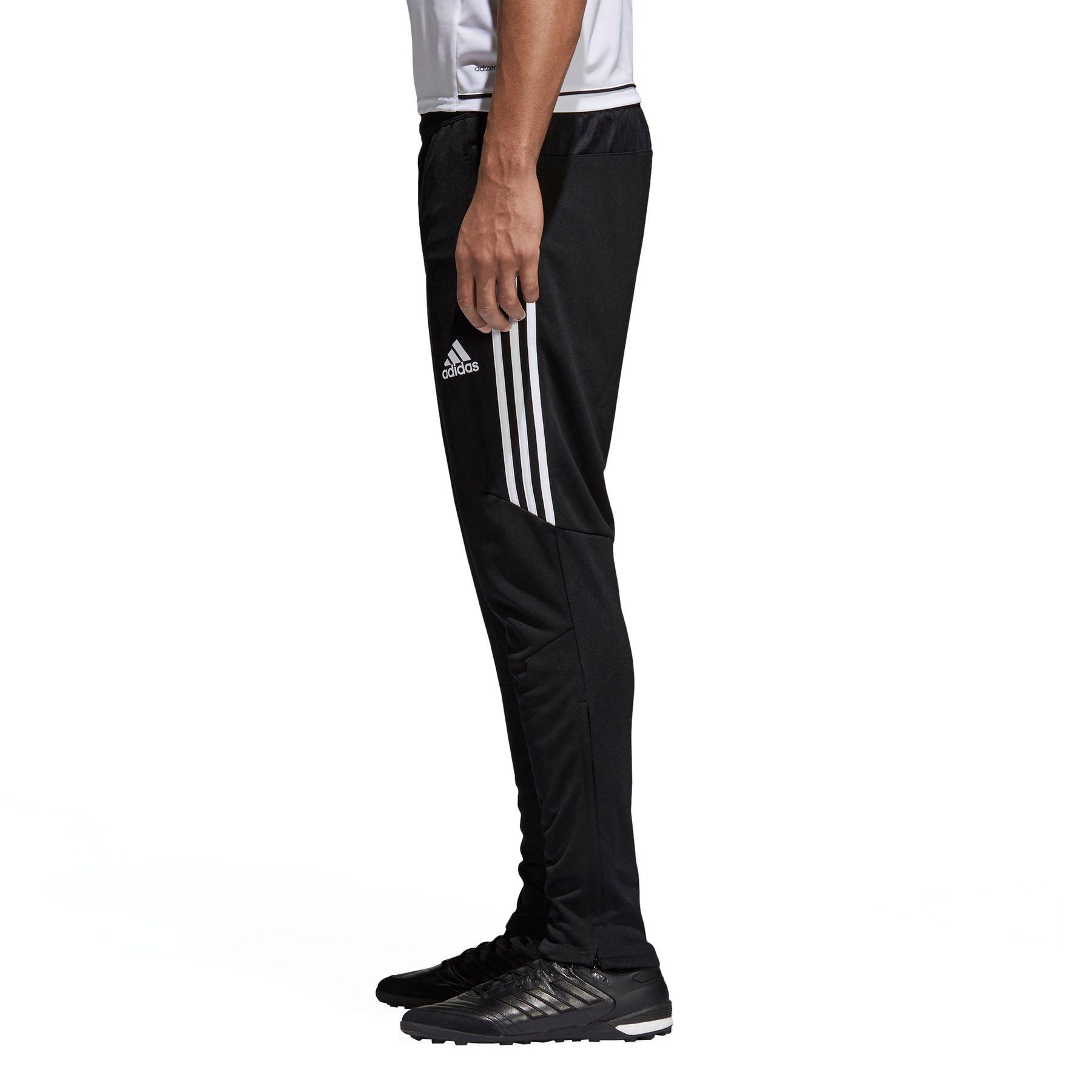 1a9ac22ac6cc56 Adidas Tiro 17 Trainingshose schwarz Herren drei Streifen weiß NEU ...